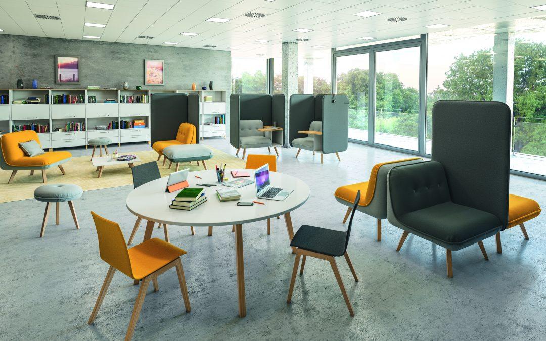 Der erste Eindruck zählt – wohnliches Ambiente im Büro