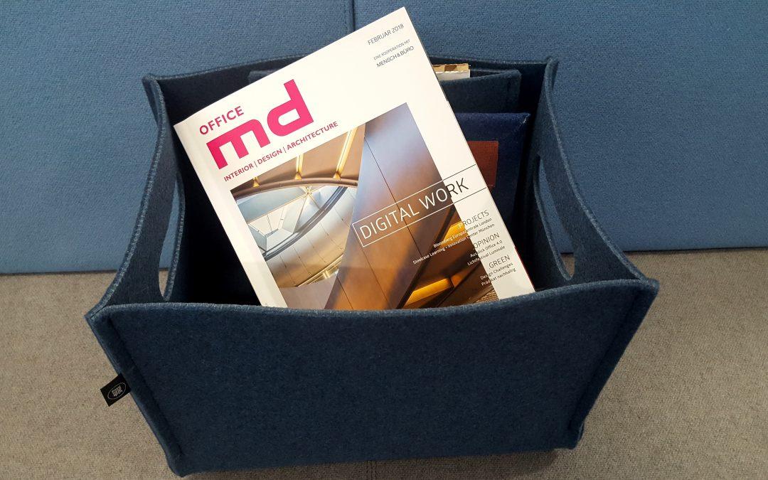 Digital Work around the world – mit der neuen Ausgabe von md office!