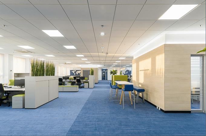 Moderne und innovative arbeitswelt pilot for Interior design keywords