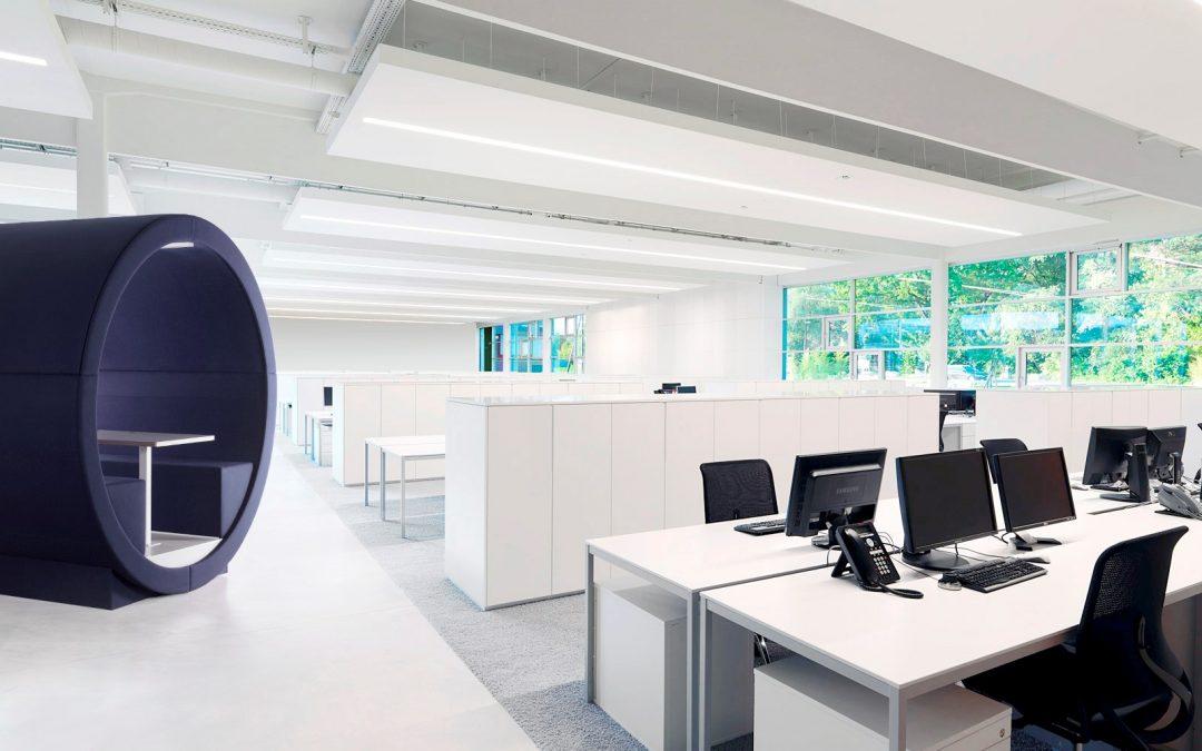 Der Eyecatcher mit Mehrwert für Ihr Büro: Mood Tube