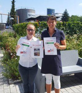 """3. Platz: Rewe Gutschein 250 Euro, Team """"SCHARRianer"""""""