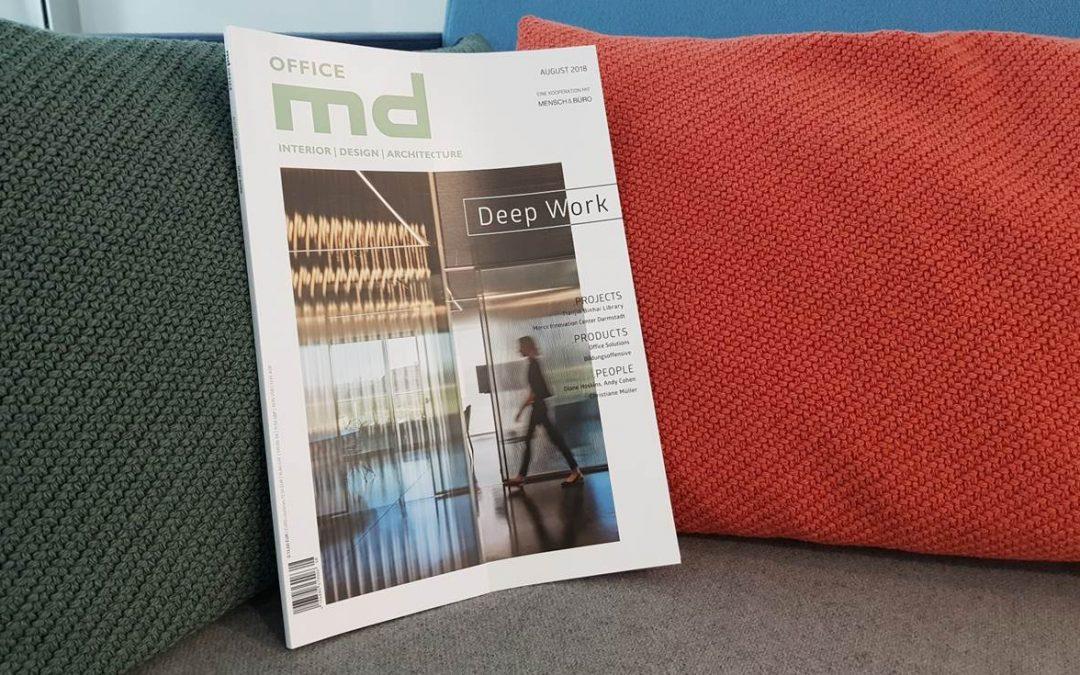 """Arbeiten ohne Ablenkung – erfahren Sie mehr über """"Deep Work"""" in der neuen Ausgabe von md Office!"""